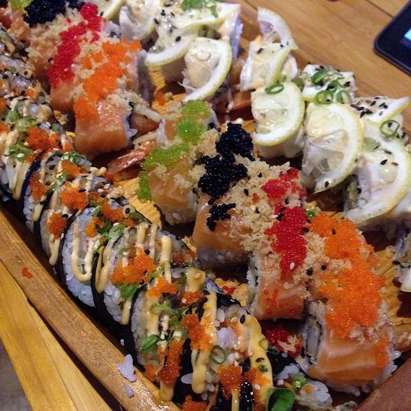 Assorted Sushi @ Sushi Wave