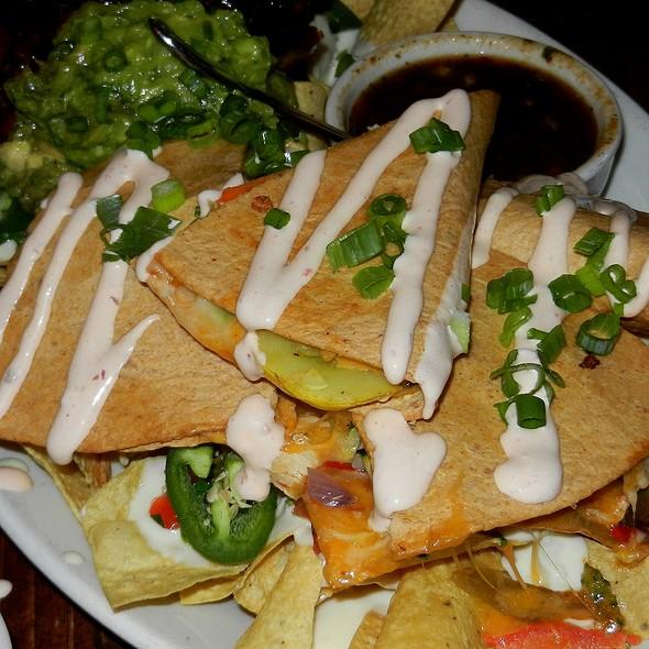Chicken Stuffed Quesadillas  - Old Town Tortilla Factory, Scottsdale, AZ