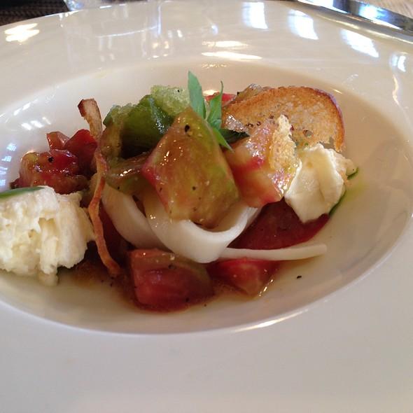 Gazpacho Salad @ Waiheke Island Yacht Club