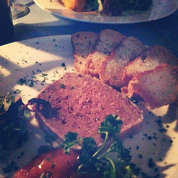 Terrine (kangaroo, llama, ostrich) @ The Inn at Phillipps Mill