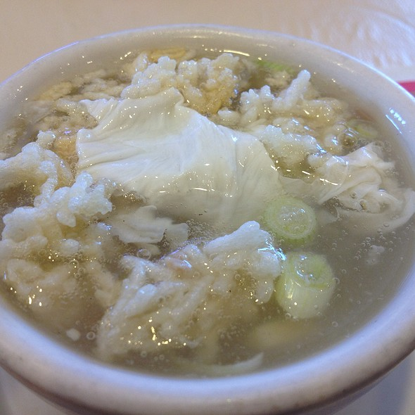 Sizzling Rice Soup @ Szechuan Chinese Cuisine