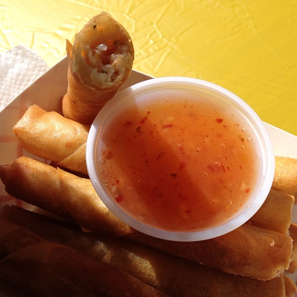 Crab And Shrimp Lumpia @ Solano County Fairgrounds