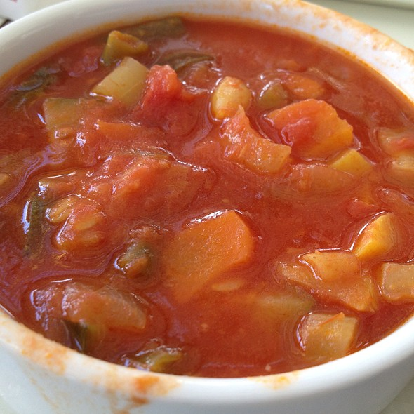Tomato Vegetable Soup @ IKEA Emeryville, CA