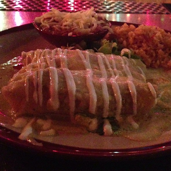Shrimp Enchiladas @ Pink Taco - Hard Rock Hotel & Casino