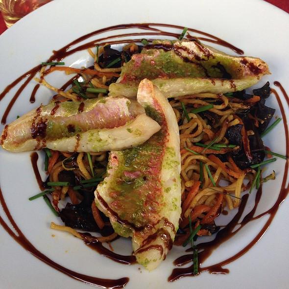 Wok De Filets De Rougets En Persillade #Foodporn @ Trudain's Café