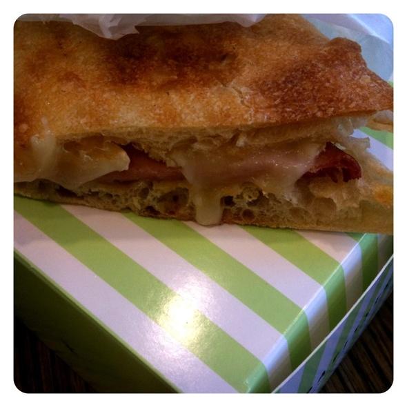 Le Parisien Sandwich @ Financier Patisserie