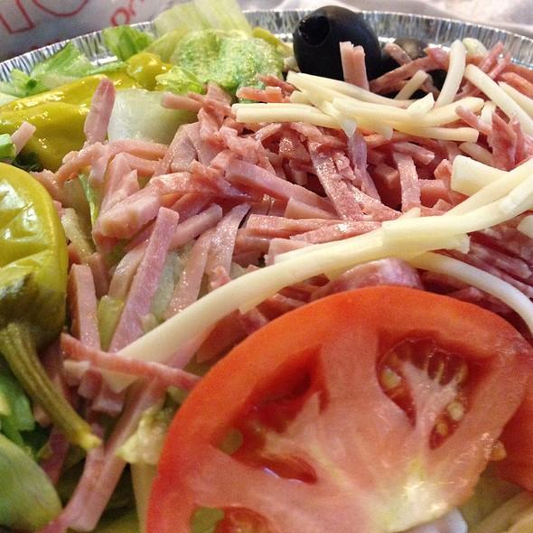 Small Antipasto Salad @ Bob's Pizza Palace