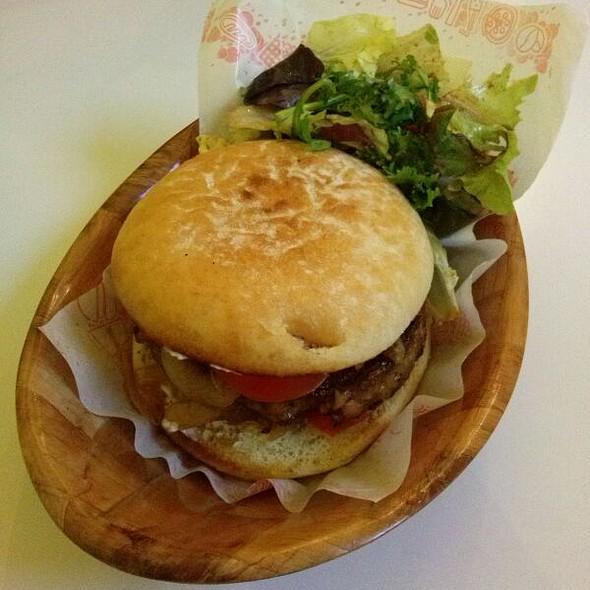 Vegan Hamburger @ Loving Hut