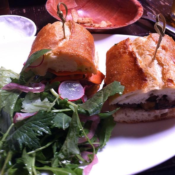 Sirloin Steak Sandwich @  Alambic
