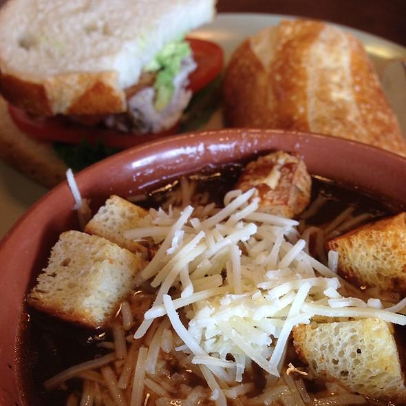 French Onion Soup @ Panera Bread