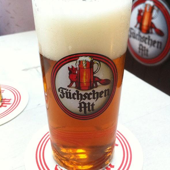 Füchschen Altbier @ Brauerei im Füchschen