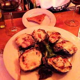 Appalachiacola Fried Oysters Rockefeller