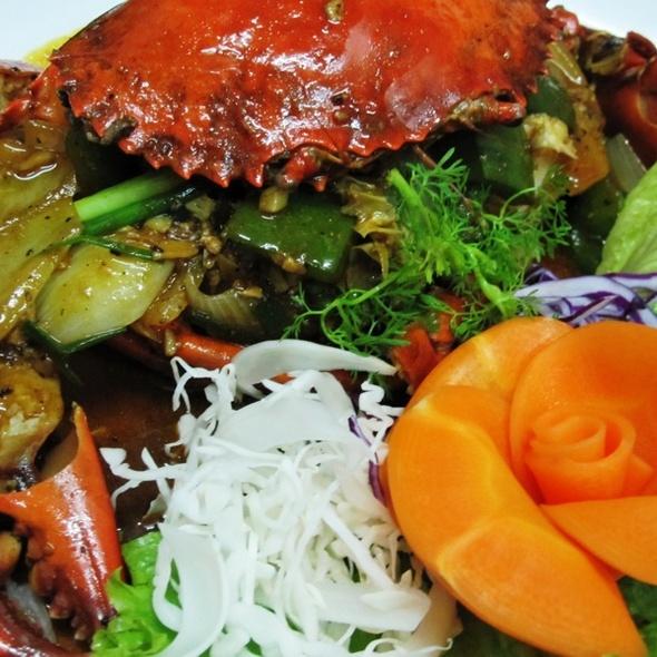 Crab In Black Pepper ปูผัดพริกไทยดำ