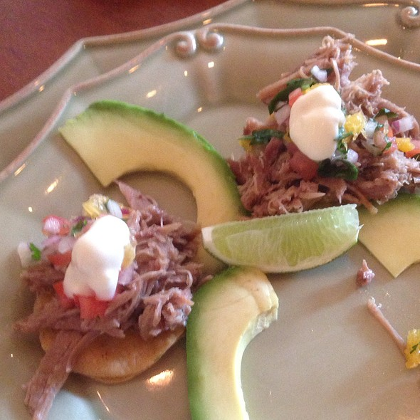 Duck Confit Tostada @ Cafe of Love