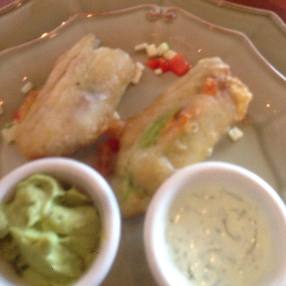 Squash Blossoms @ Cafe of Love