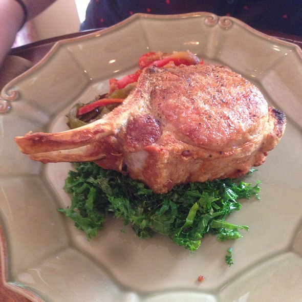 Double Cut Pork Chop @ Cafe of Love