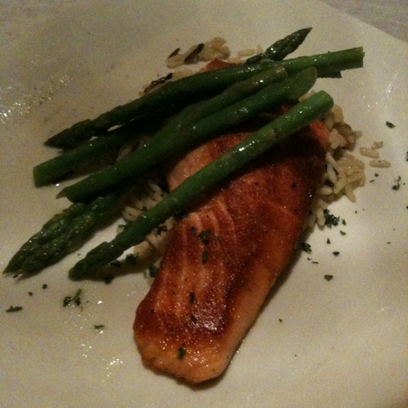 Smoked Seared Salmon @ Crum's On Central