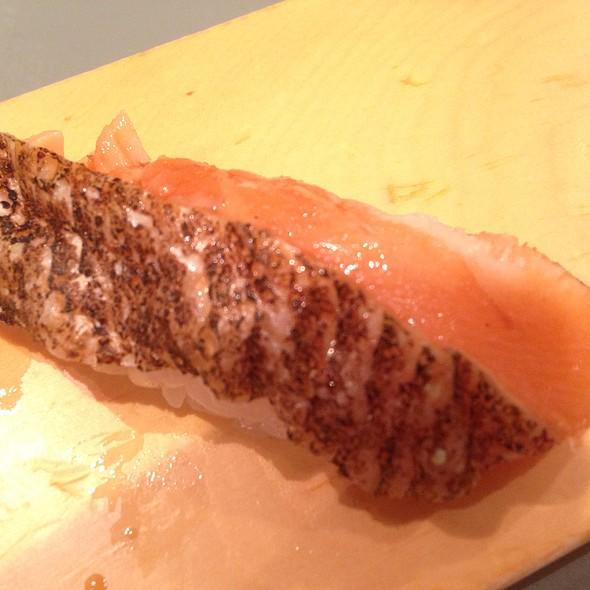 Seared Seabass Sushi