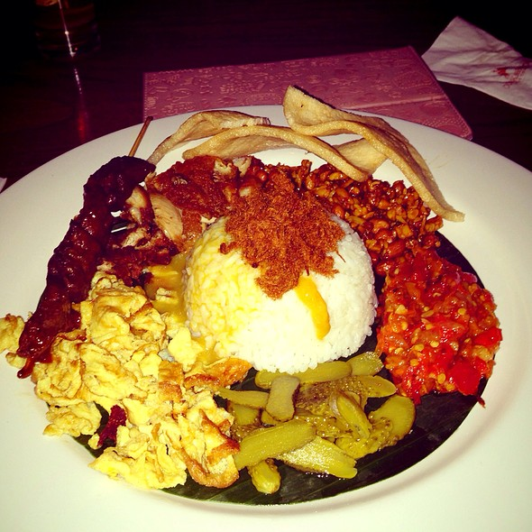 Nasi Campur Bali @ Cork & Screw