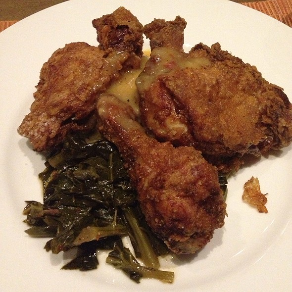 buttermilk fried chicken @ Southern Art and Bourbon Bar