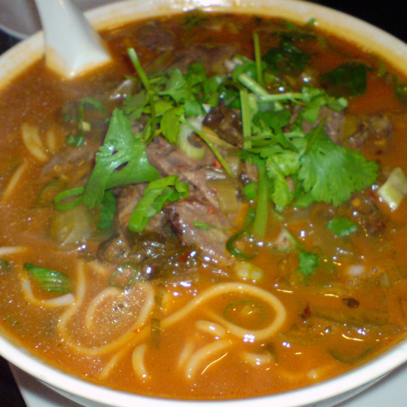Beef noodle soup - Crouching Tiger Restaurant, Redwood City, CA