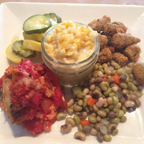 Seasonal Vegetable Plate - Dyrons Low country, Mountain Brook, AL