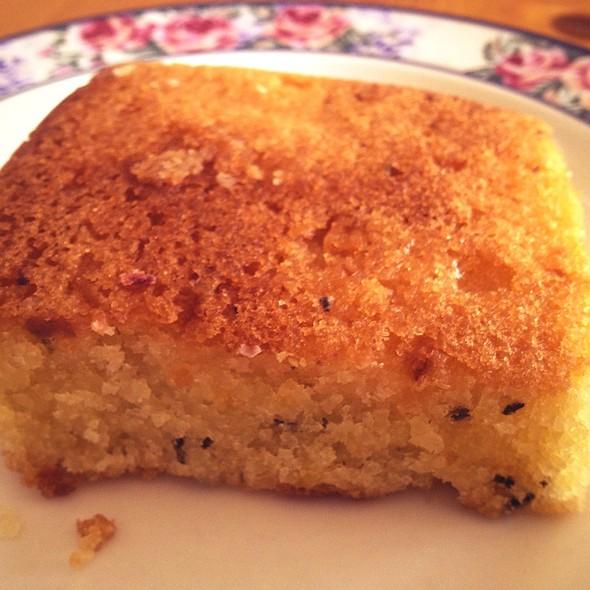 Lemon and rosemary cake @ Lolly and Cooks Upper Merrion St.