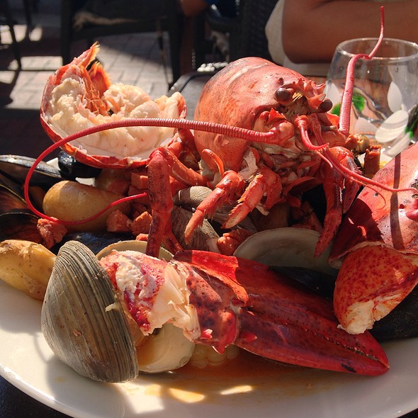 clambake - Battery Wharf Grille, Boston, MA