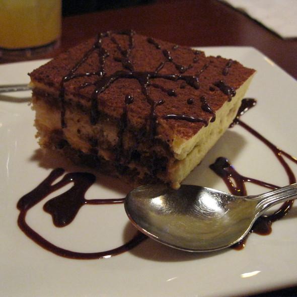 Tiramisu @ Cinderellas Restaurante