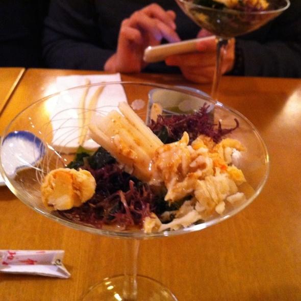 Crab Wakame Salad @ Aoyama Sushi Restaurant