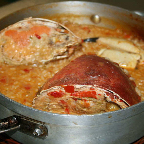 Arroz con Buey de Mar @ Restaurant La Mar del Delta