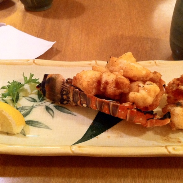 Lightly Fried Lobster @ Aoyama Sushi Restaurant
