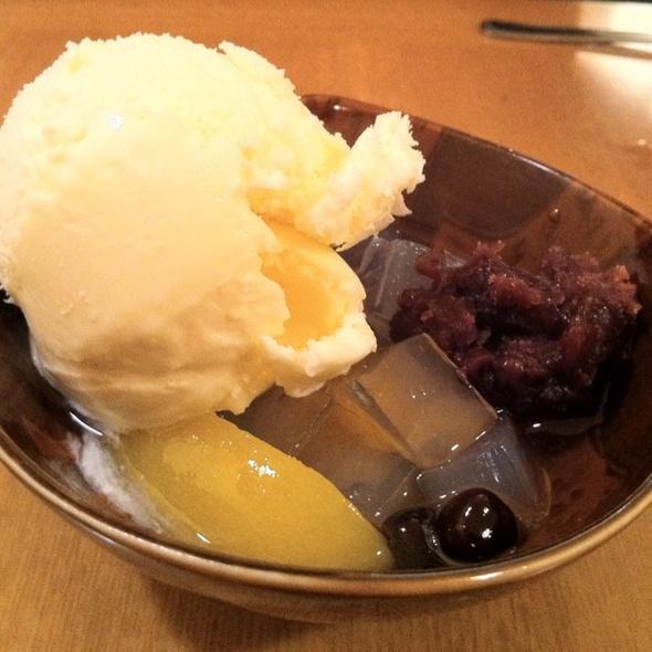 Cream Mitsumame @ Aoyama Sushi Restaurant