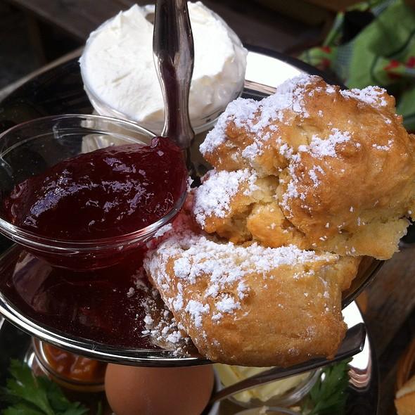 Jam & Cream Scone, Tier Three Of Breakfast Tray