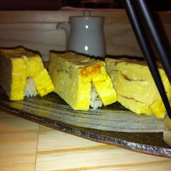 Tamago @ Sushi Izakaya Shinn