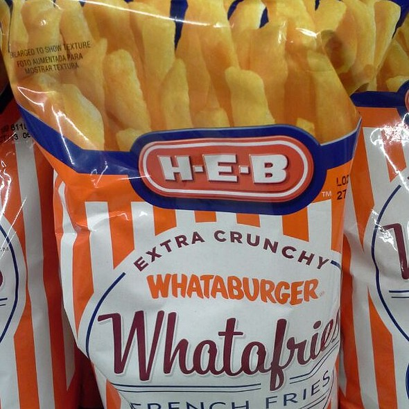 Whataburger French Fry Chips @ H-E-B