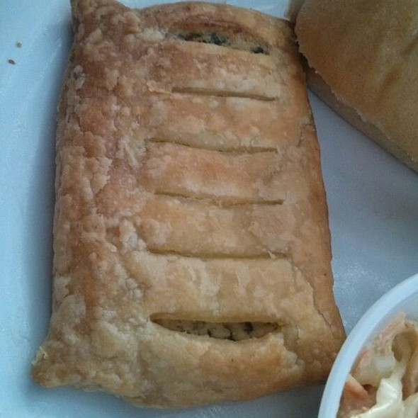 Spinach And Ricotta Pastry @ Drunken Monkey Coffee Bar