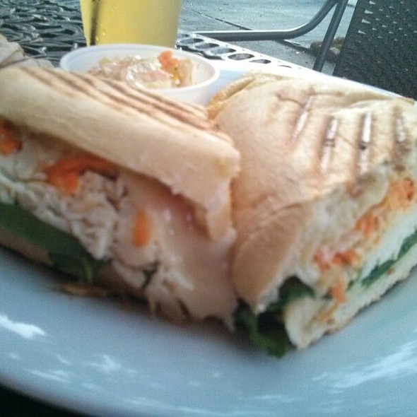 Turkey Ranch Panini @ Drunken Monkey Coffee Bar