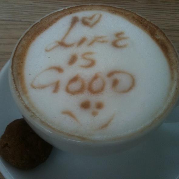 Cappucino @ Life Grand Cafe, Hyde Park