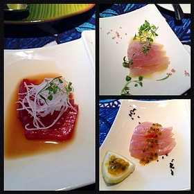 Papa's Three Fish Sashimi