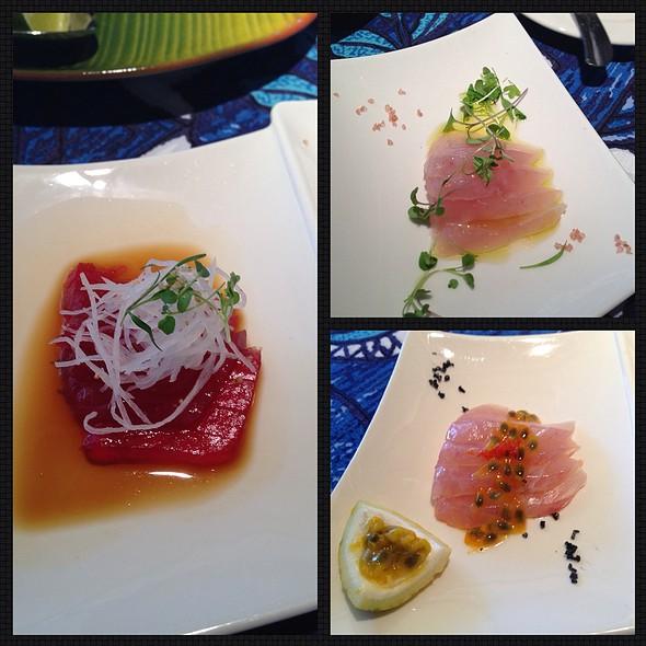 Papa's Three Fish Sashimi - Mama's Fish House, Paia, HI