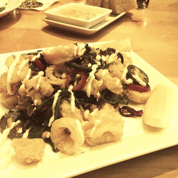 Calamari - Rustic Kitchen, Boston, MA