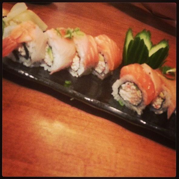 Rainbow Roll. @ Sushi Camp