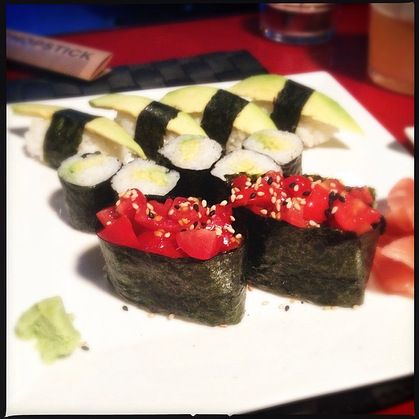 Vegetarian Sushi @ This Is Not A Sushibar