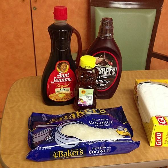 The secret ingredients! @everydayhealth @ Cobble Hill Health Center