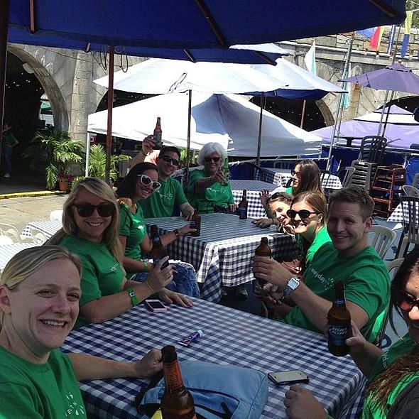 After party! @everydayhealth @ Boat Basin Café