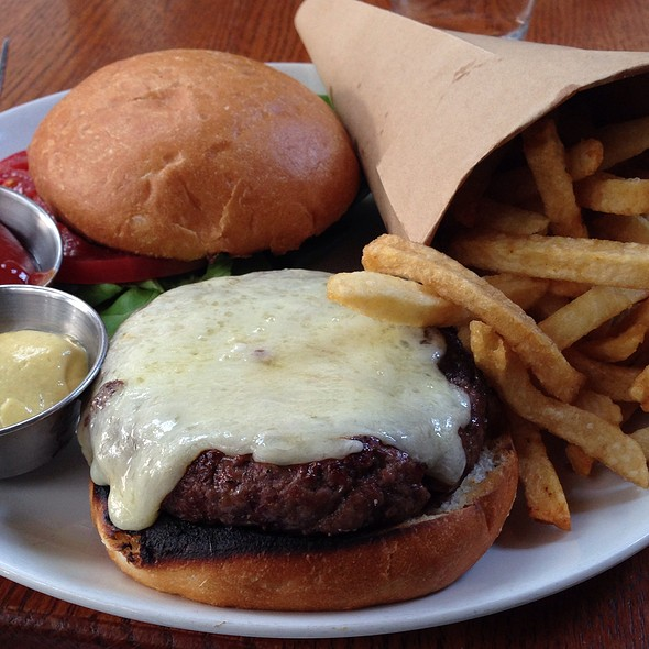 Burger @ Anchor & Hope