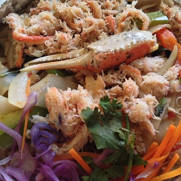 Spicy Mint Noodles @ Sib Song Thai Restaurant
