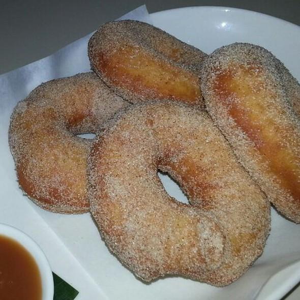 Cinnamon And Sugar Doughnut - UpRoot Restaurant, Warren, NJ