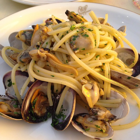 Spaghetti With Clams - Cipriani Downtown, New York, NY
